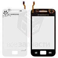 Сенсорный экран для мобильного телефона Samsung S5830i Galaxy Ace, белый, la fleur