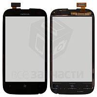 Сенсорный экран для мобильного телефона Nokia 510 Lumia, черный