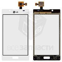 Сенсорный экран для мобильных телефонов LG P700 Optimus L7, P705 Optimus L7, белый