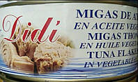 Тунец кусковый в масле Didi Migas 900г
