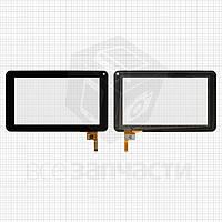 """Сенсорный экран для планшетов China-Tablet PC 7""""; Cube U25GT, U26GT, 12 pin, емкостный, черный, (186*111 мм), #300-N3803B-C00-V1.0"""