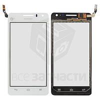 Сенсорный экран для мобильных телефонов Huawei U8950 Honor+ Ascend G600, U9508 Honor 2, белый, #CT1095FPC-A5-E