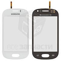 Сенсорный экран для мобильного телефона Samsung S6810 Galaxy Fame, белый