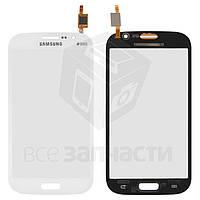 Сенсорный экран для мобильных телефонов Samsung I9080 Galaxy Grand, I9082 Galaxy Grand Duos, белый