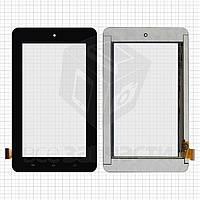 """Сенсорный экран для планшетов China-Tablet PC 7""""; Teclast P75A, 7"""", 199 мм, 154 мм, 30 pin, емкостный, черный, #070068-01A-V2/PB70M828-R1"""