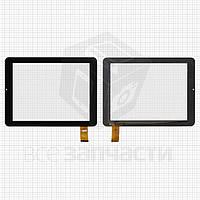 """Сенсорный экран для планшетов China-Tablet PC 8""""; Explay Informer 801, Surfer 8.01, 32 pin, емкостный, черный, (197*148 мм), # PB80M868-VER0"""