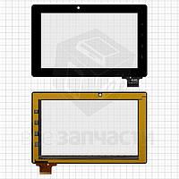 "Сенсорный экран для планшетов China-Tablet PC 7""; Bliss Pad T7012; Freelander PD10, PD20; Prology Evolution Note-700 GPS, 61 pin, емкостный, черный,"