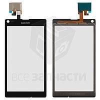 Сенсорный экран для мобильных телефонов Sony C2104 S36 Xperia L, C2105 S36h Xperia L, черный