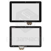 Сенсорный экран для планшетов Acer Iconia Tab A210, Iconia Tab A211, черный, #69.10I22.T01