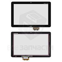 Сенсорный экран для планшетов Acer Iconia Tab A210, Iconia Tab A211, черный, #69.10I22.G04
