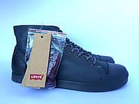 Женские высокие ботинки кеды Levi's оригинал, фото 1