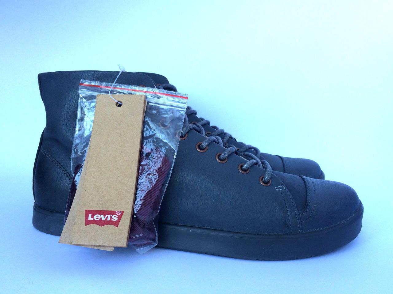 Женские высокие ботинки кеды Levi's оригинал