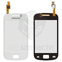 Сенсорный экран для мобильного телефона Samsung S6500 Galaxy Mini 2, белый