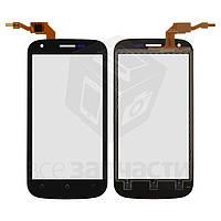 Сенсорный экран для мобильного телефона Fly IQ443 Trend, original, черный, #M202-E88130-000