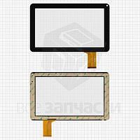 """Сенсорный экран для планшетов China-Tablet PC 9""""; Allwinner A13 Q9; Impression ImPAD 9213; Uni Pad DR-UDP05A, 9"""", 50 pin, емкостный, черный, (233*141"""