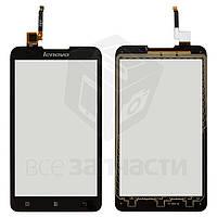 Сенсорный экран для мобильного телефона Lenovo A590, черный