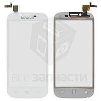 Сенсорный экран для мобильного телефона Lenovo A706, белый