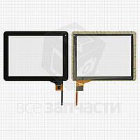 """Сенсорный экран для планшетов China-Tablet PC 9,7""""; Explay Informer 921, 12 pin, емкостный, черный, (236*183 мм), #AD-C-970024-2-FPC"""