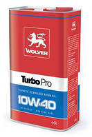 Моторное масло WOLVER Turbo Pro 10w40 SG/CF 4