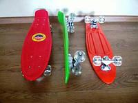 Скейт скейтборд пенниборд пенни борд с прочной подвеской