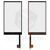 Сенсорный экран для мобильного телефона HTC One Max 803n, черный