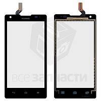 Сенсорный экран для мобильного телефона Huawei Ascend G700-U10, черный, #HMCF-050-0860-V0.3