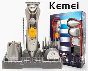 Машинка для стрижки Kemei KM 580-А, 7в1 Тример