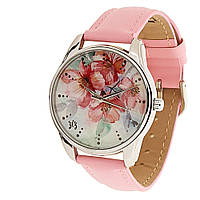 """Часы ZIZ """"Цветение"""" (розовый, серебро)"""