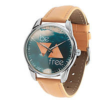 """Часы ZIZ """"Совы"""" (коричневый, серебро)"""