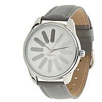 "Часы ZIZ ""Загрузка"" (серый, серебро)"