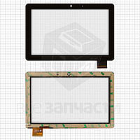 """Сенсорный экран для планшетов China-Tablet PC 7""""; Wexler TAB 7i, 7"""", 40 pin, емкостный, черный, (178*114 мм), #300-L3867A-B00/HOTATOUCH"""