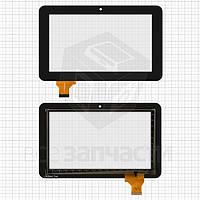 """Сенсорный экран для планшетов China-Tablet PC 7""""; Ainol Novo 7 Rainbow, 7"""", 30 pin, емкостный, черный, (187*115 мм), #LT70020A1"""