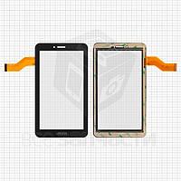 "Сенсорный экран для планшетов China-Tablet PC 7""; Freelander PD10 3G, PX1, 7"", 30 pin, емкостный, черный, (186*105 мм), #362-A/FM710301KA/M78 F7 F76;"