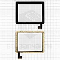 """Сенсорный экран для планшетов China-Tablet PC 8""""; Modecom FreeTab 8001 3G; Digma  iDsD8, 8"""", 50 pin, емкостный, черный, (199*154 мм), #QSD 8007-03"""