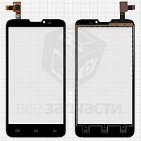 Сенсорный экран для мобильных телефонов Micromax Canvas Doodle A111; Pioneer E90W; Prestigio MultiPhone 5300 Duo, черный, #DJN-AW980-V1.0