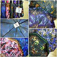 Женский зонтик в красочный принт автомат