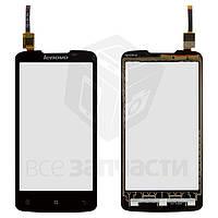 Сенсорный экран для мобильного телефона Lenovo A820t, черный