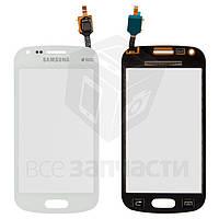 Сенсорный экран для мобильного телефона Samsung S7582 Galaxy Trend Plus Duos, белый