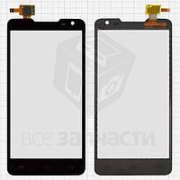 Сенсорный экран для мобильных телефонов Pioneer S90W; Prestigio MultiPhone 5044 Duo, черный, #CT4F044FPC-A1-E