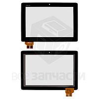 Сенсорный экран для планшета Asus PadFone 2 A68, черный, #41.1AUP304.203