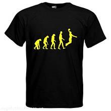 Футболка Эволюция баскетбола
