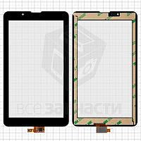 """Сенсорный экран для планшетов China-Tablet PC 7""""; Supra M722G, 7"""", 10 pin, емкостный, черный, (185*105 мм),"""