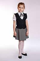 Юбка школьная - черная школьная форма