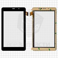 """Сенсорный экран для планшетов China-Tablet PC 7""""; Texet TM-7058 3G, 7"""", 30 pin, емкостный, черный, (189*106 мм), #PB70JG9391"""