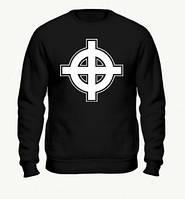 Свитшот с принтом Кельтский крест