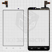 Сенсорный экран для мобильных телефонов Micromax Canvas Doodle A111; Pioneer E90W; Prestigio MultiPhone 5300 Duo, белый, #DJN-AW980-V1.0