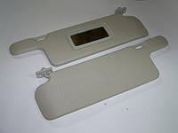 Козырьки ВАЗ-2108 солнцезащит. жесткие с зеркалом (Сызрань)
