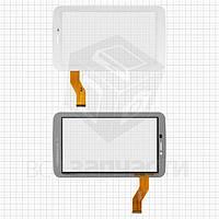 "Сенсорный экран для планшетов China-Tablet PC 7""; Ainol Novo 7 AX1 3G; Digma  TT702M 3G, 7"", 51 pin, емкостный, белый, тип 3, (188*108 мм),"