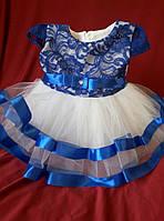 Платье нарядное для девочки от 6 мес до 1 года