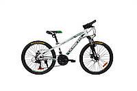 "Велосипед KINETIC SNIPER DISK 24"", рама 12"", белый"